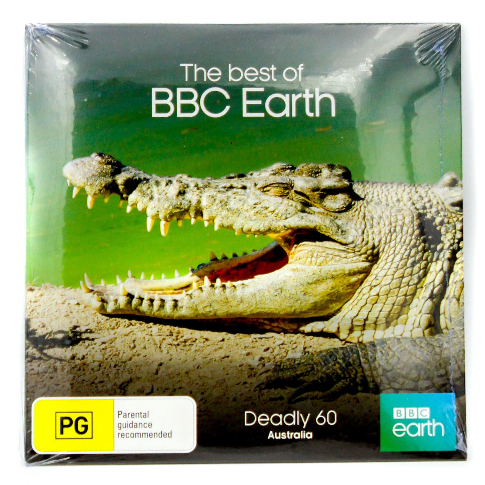 Deadly 60 Australia-BBC Earth-Slip Case - DVD Series Rare Aus Stock New