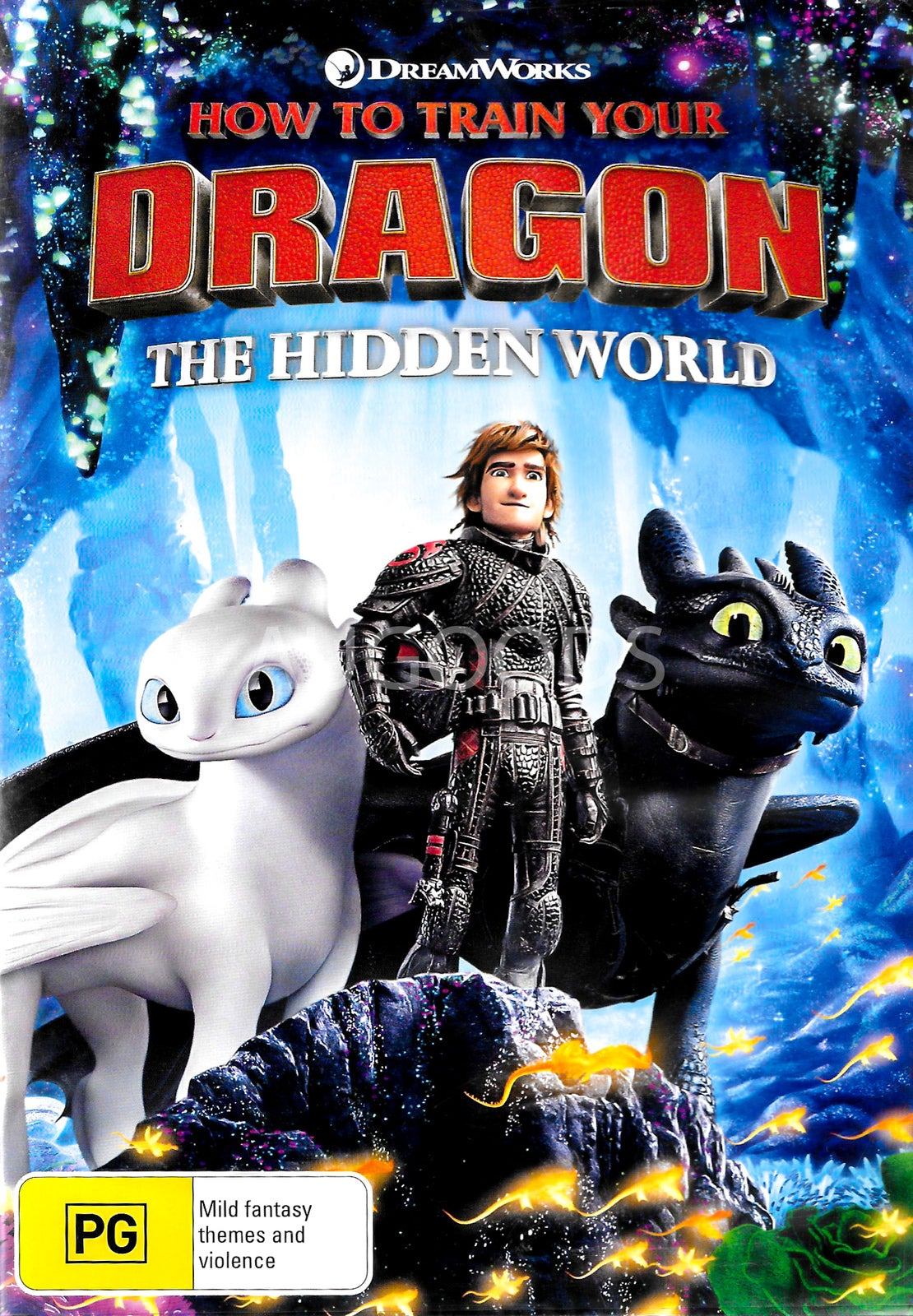 How To Train Your Dragon The Hidden World -Rare DVD Aus Stock Animated New
