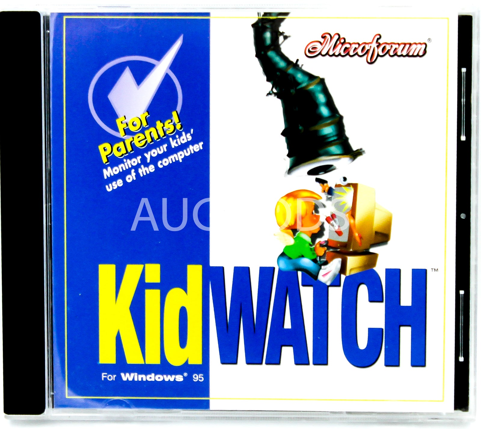 Kid Watch - For Windows 95 BRAND NEW SEALED MUSIC ALBUM CD