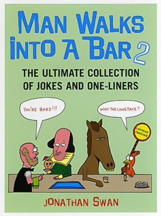 Man Walks Into A Bar 2 -Jonathan Swan Book