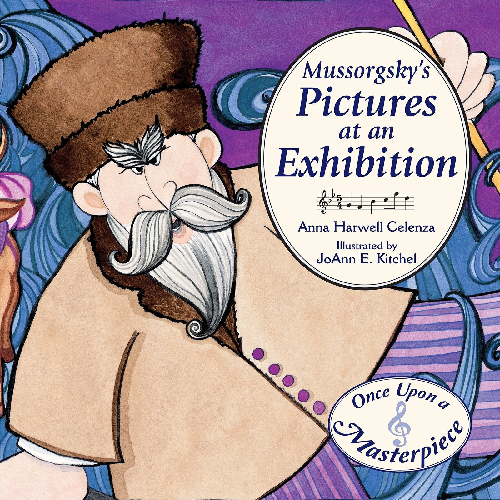 Mussorgsky's Pictures at an Exhibition Hardcover Book