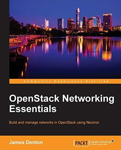 Openstack Networking Essentials -James Denton Computers Book Aus Stock