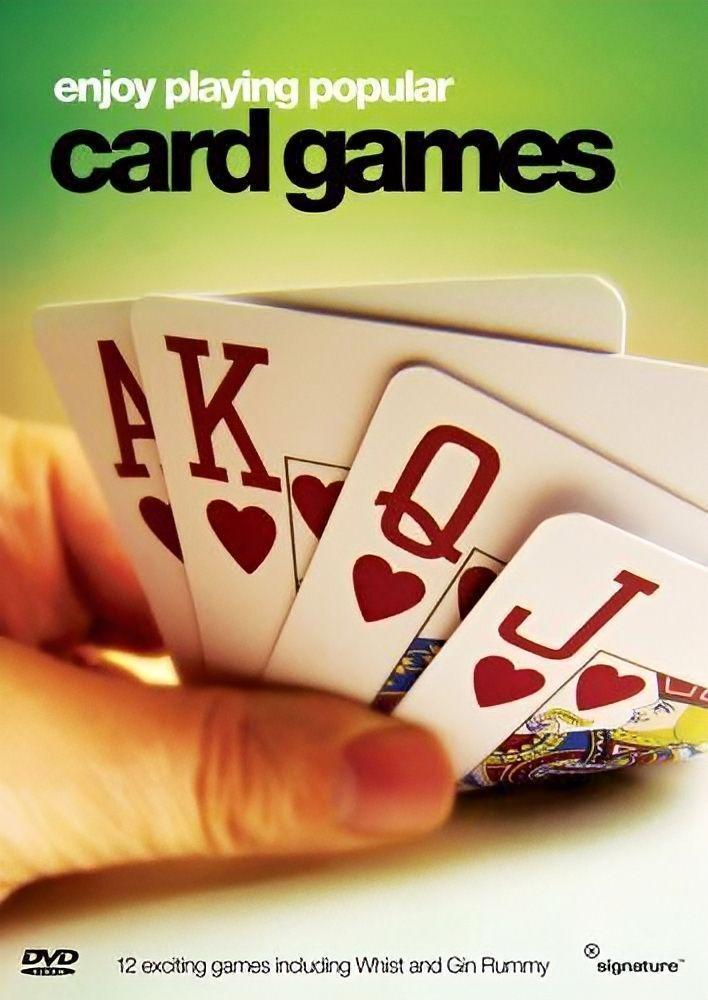 Popular Card Games - DVD Series Rare Aus Stock New