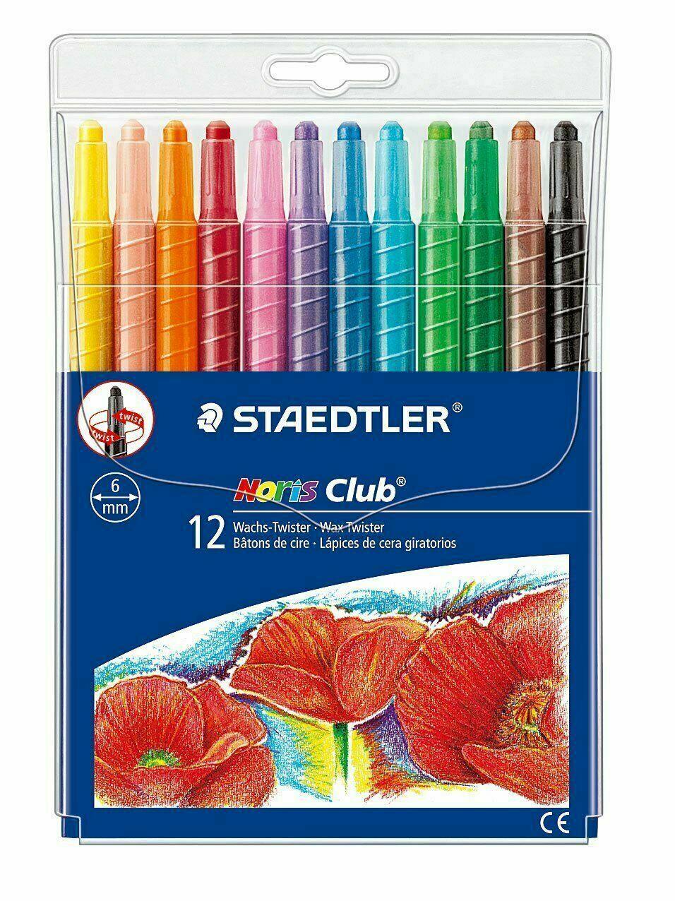 STAEDTLER Crayons STAEDTLER Noris Club Wax Twister WLT12