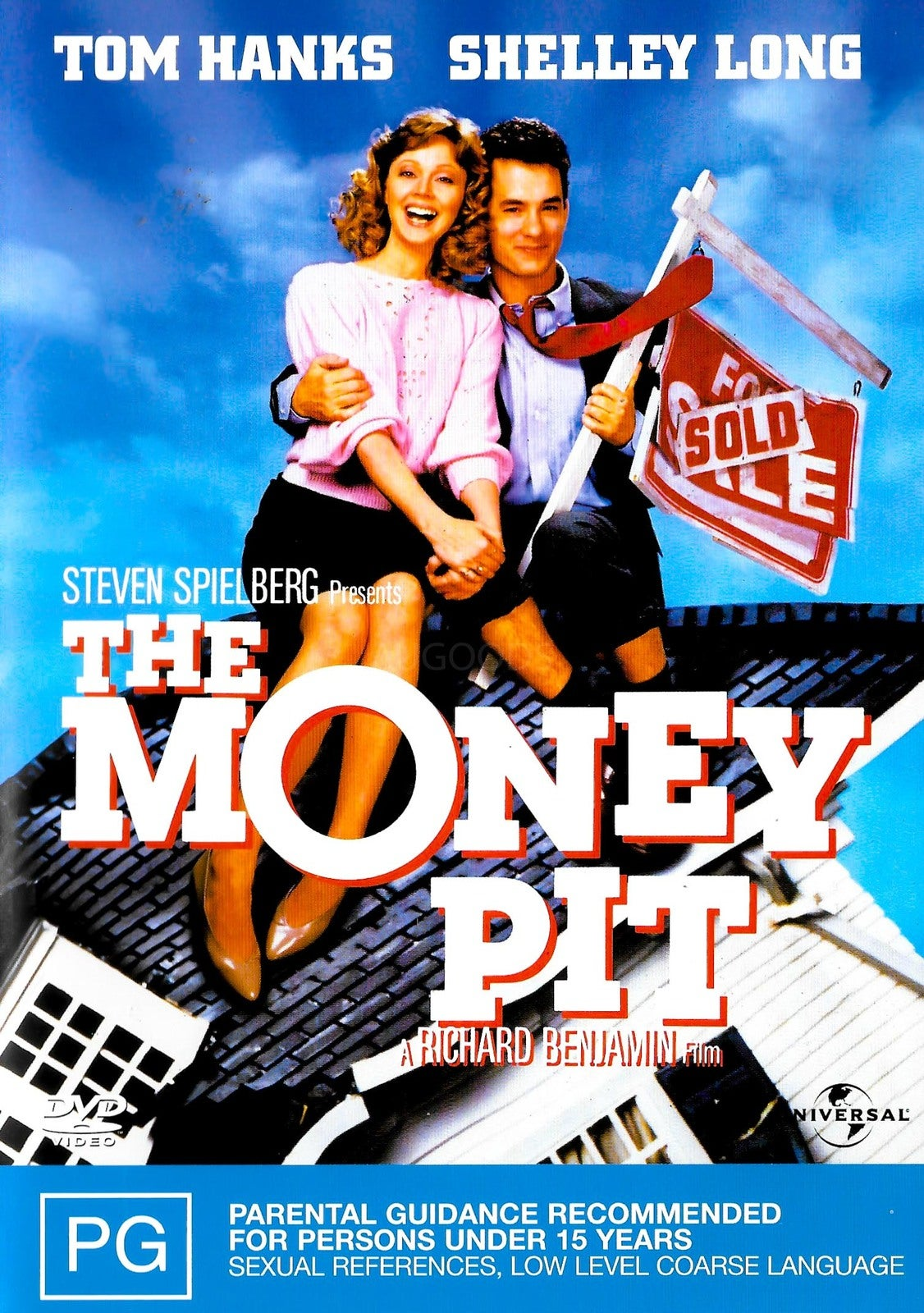 THE MONEY PIT -Rare DVD Aus Stock Comedy Preowned: Excellent Condition