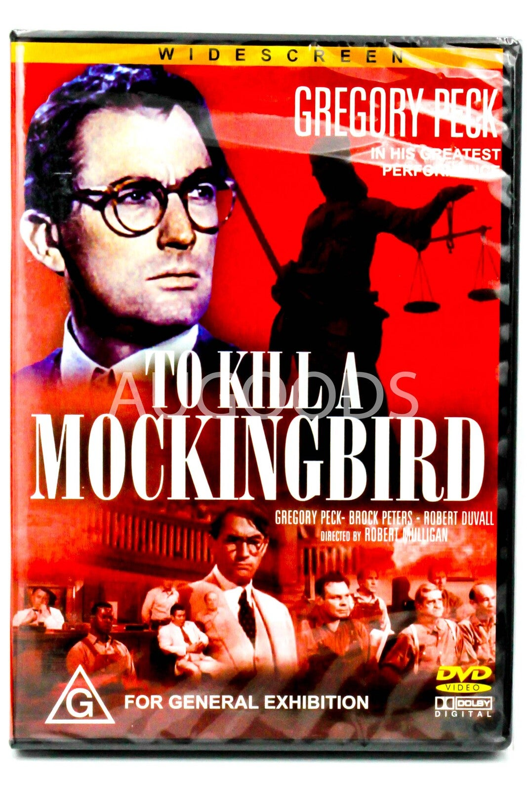 To Kill A Mocking Bird - Rare DVD Aus Stock Preowned: Excellent Condition