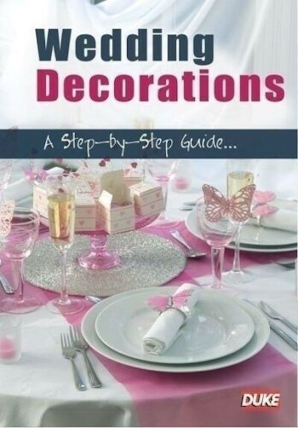 Wedding Decorations - A Step By Step Guide -Educational DVD Preowned: Excellent Condition