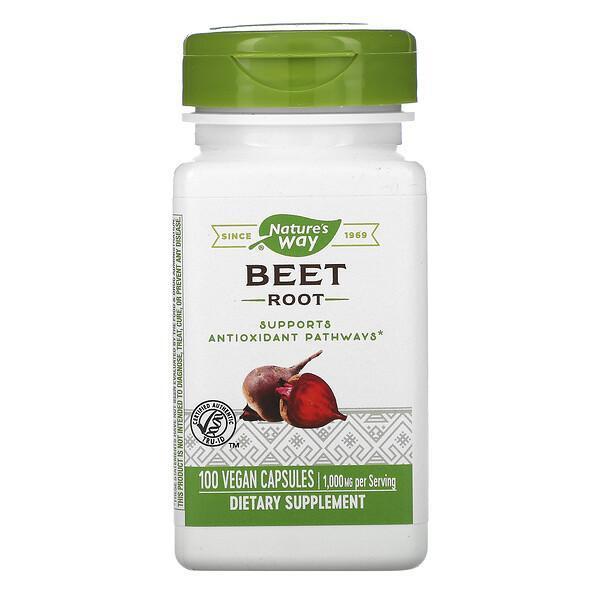 Nature's Way, Beet Root, 1,000 mg, 100 Vegan Capsules