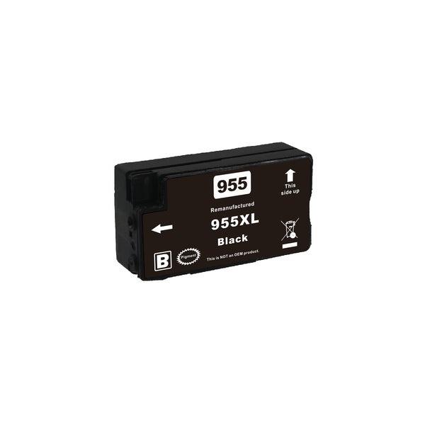 HP Compatible 955XL Black Premium Remanufactured Inkjet Cartridge