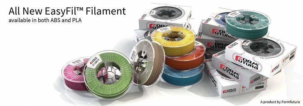 PLA Filament EasyFil PLA 2.85mm Luminous Yellow 750 gram 3D Printer Filament