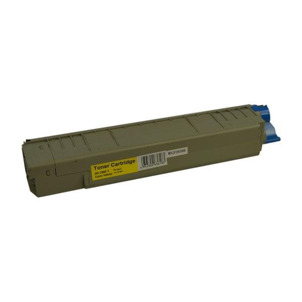 MC860 Yellow Premium Generic Toner Cartridge
