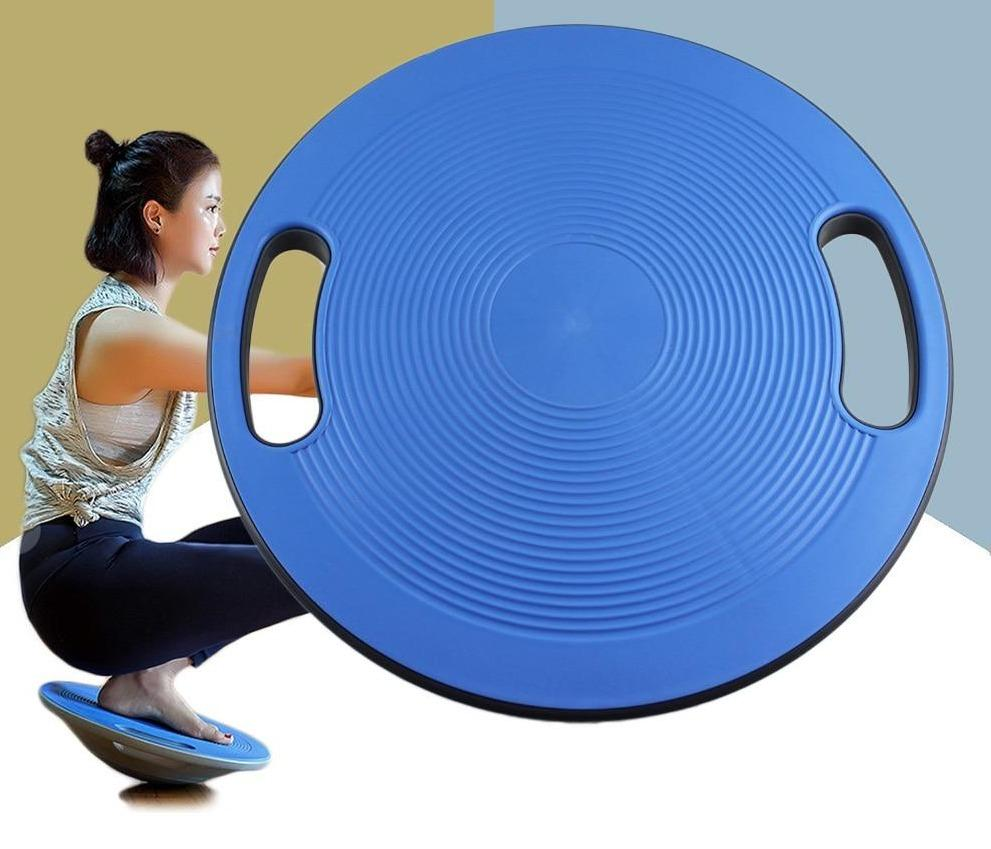 40cm Stability Disc Yoga Pilates Balance Board Fitness Home Exercise Gym