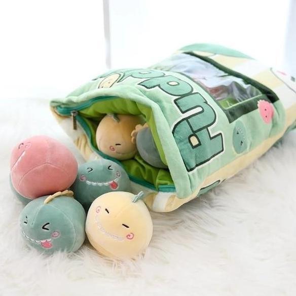 Bag Of Baby Dino Plushies