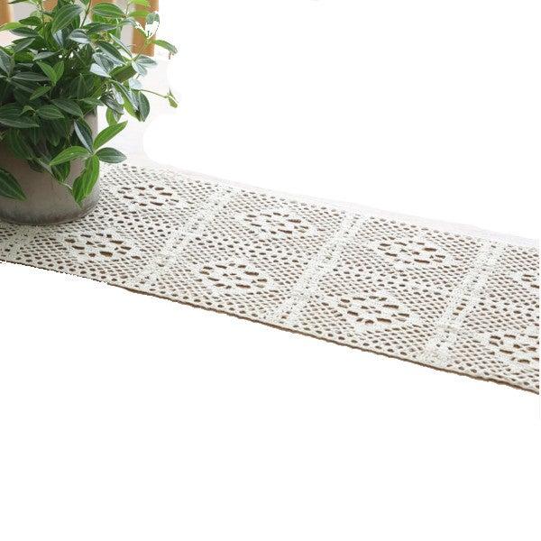 Lace Crochet Table Runner Home Decor