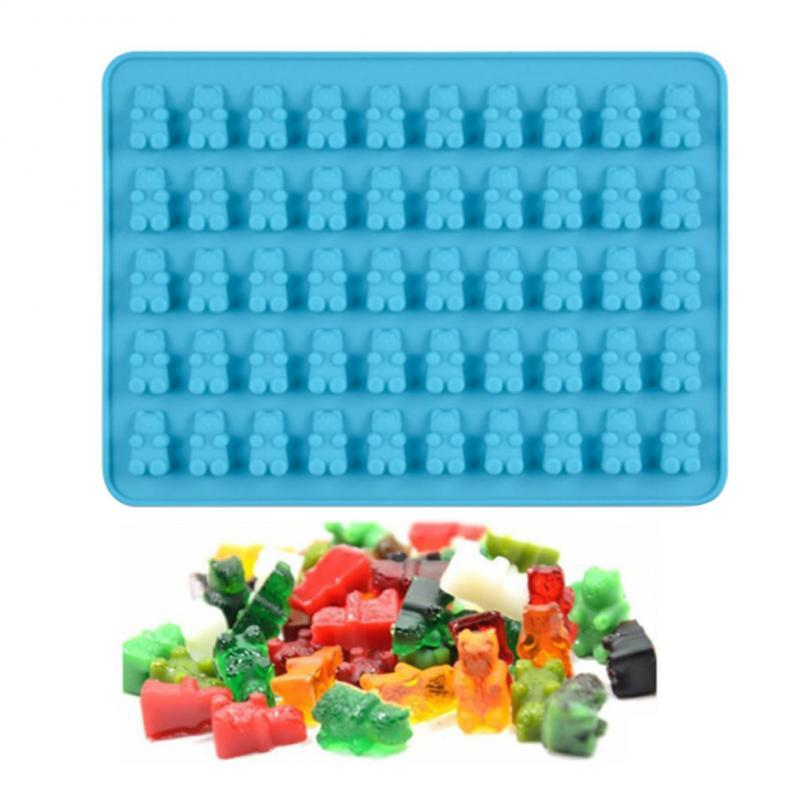 Mini Gummy Bear Silicone Mold Baking Tools Candy Jelly Making Accessories