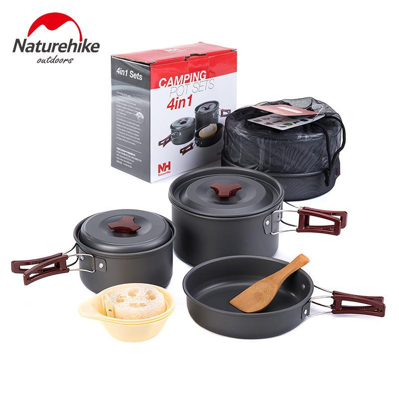 Outdoor Camping Picnic Cookware and Tableware Set