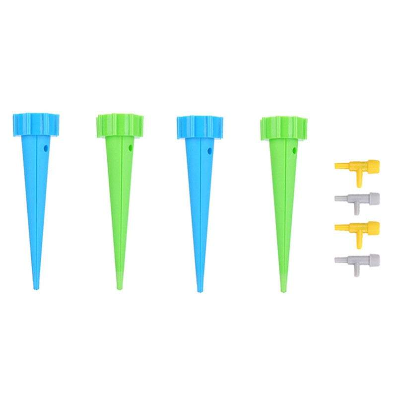 Water Features & Fountains 4 or 8-Pack Automatic Garden Cone Plant Watering Spike Drip Irrigation