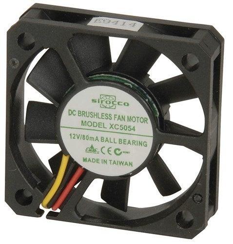 40mm 3 Wire 12V DC Ball Bearing Fan XC5054