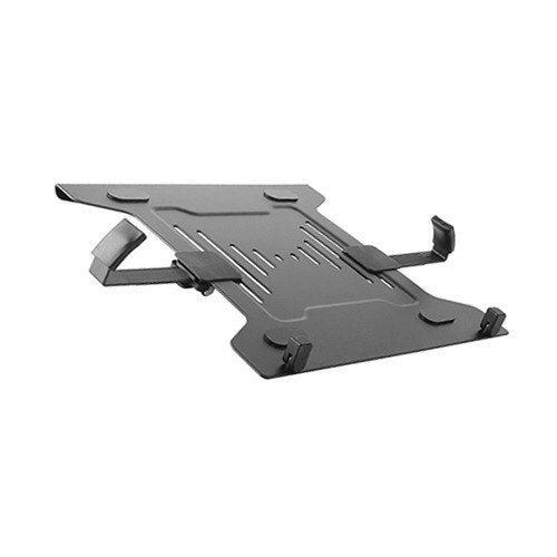 Brateck Steel Laptop Holder Fits 10-15.6Inch For Desk Mounts upto 4.5Kg Capacity