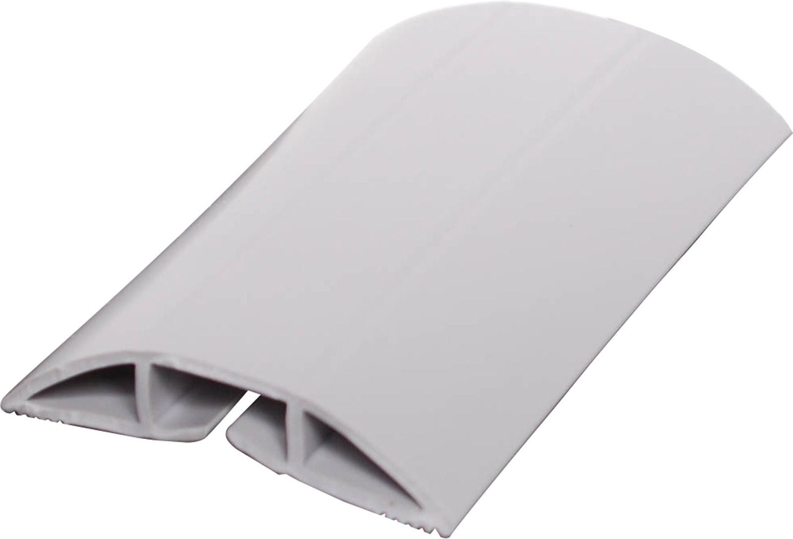 54mm Grey Cable Duct Floor Strip 1.8m Supplied with Self Adhesive Tap
