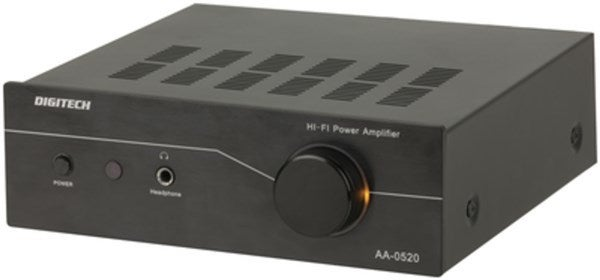Digitech Stereo Amplifier 240 WRMS with Remote Control 6.5mm headphone output