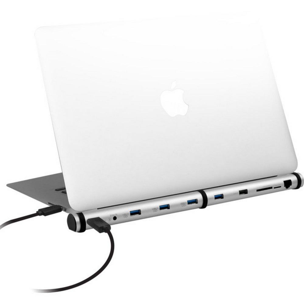 Macbook And Notebook Dock USB Hub Charger Micro SD LAN