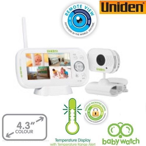 Uniden BW3101 LCD 1 Camera System Baby Monitor 2.3inch Walkie Talkie Function