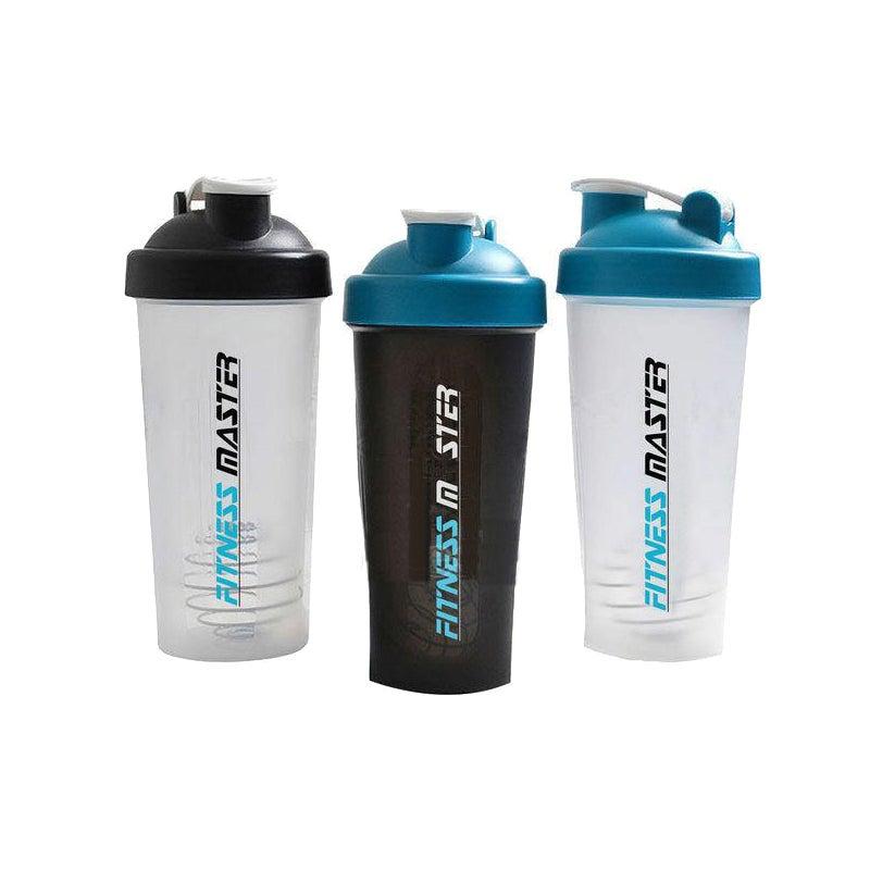 10X GYM Protein Supplement Drink Blender Mixer Shaker Shake Ball Bottle 700ml