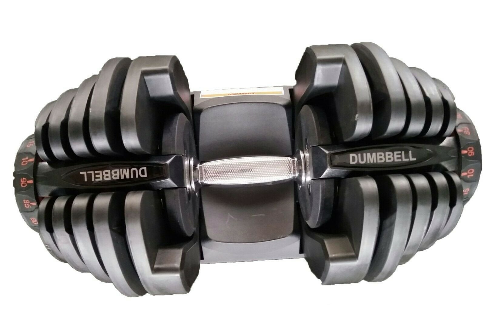 40kg/80kg Adjustable Dumbbell Set Home GYM Exercise Equipment Weight 17 weights