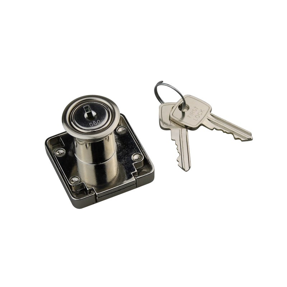 Firstlock Cupboard Lock BOLTLOCKSQKD 5 Disc Square Keyed To Differ w/ Barrel