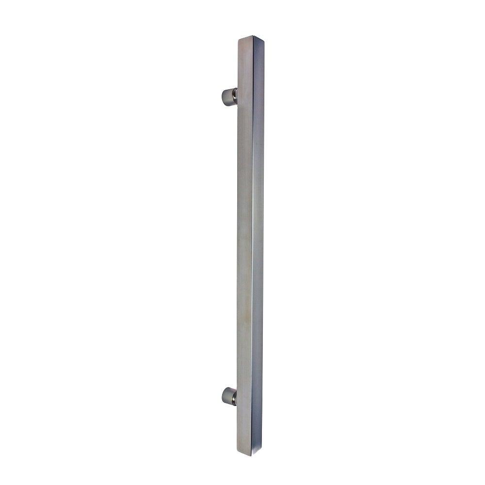 Nidus Entrance Door Pull Handle PH834-1200-PSS 38x38x1200mm 304 Grade SS Pair