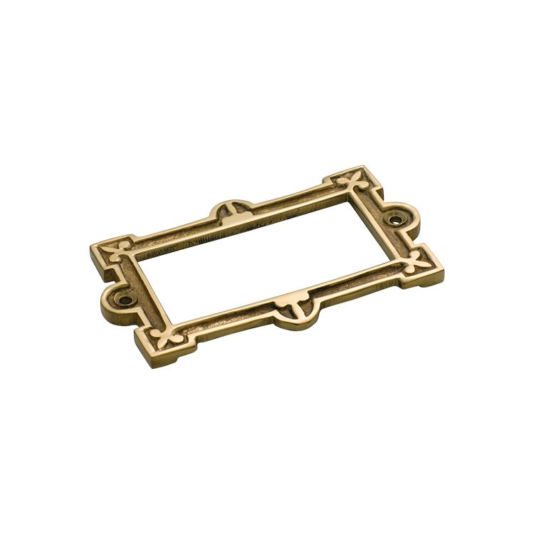 *WSL DISCONTINUED* Tradco 3815PB Card Holder Polished Brass 95x58mm