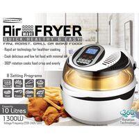 10L Air Fryer Digital 1300W Fry, Roast, Bake or Grill - All in one!