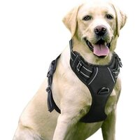 No Pull Dog Harness, Oxford Padded Soft Vest Walking Pet Harness for Dogs Easy Control