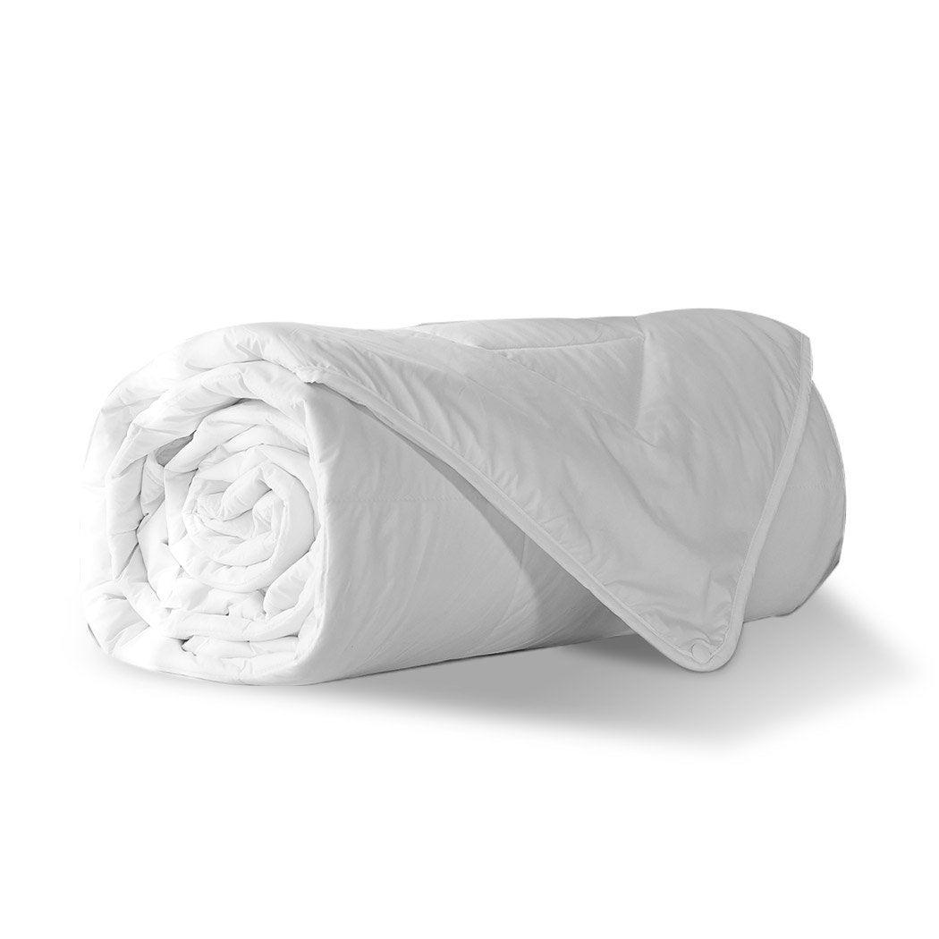 NNEIDS DreamZ 100% Wool Quilt Luxury Doona Duvet Down 600GSM Winter Summer Double