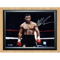 Iron Mike Tyson Signed Autographed Photo Poster Print Memorabilia