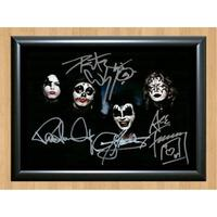 Kiss Ace Frehley Rock Signed Autographed Photo Poster Print Memorabilia