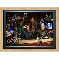 Red Dwarf Cast Craig Charles Chris Barrie Signed Autographed Photo Poster Print Memorabilia