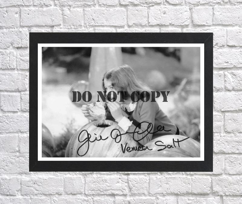 Julie Dawn Cole Willy Wonka Autographed Signed Photo Poster
