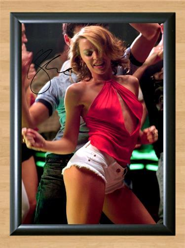 Kylie Minogue Spinning Around Signed Autographed Photo Poster Print Memorabilia