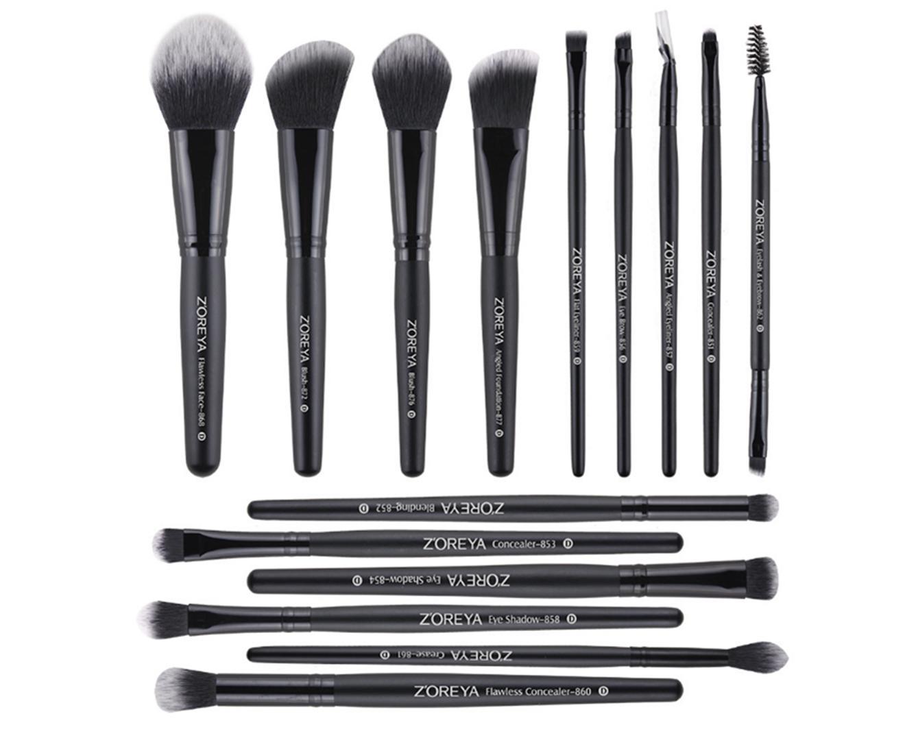 15PCS professional makeup brush set foundation eye shadow beauty makeup tool