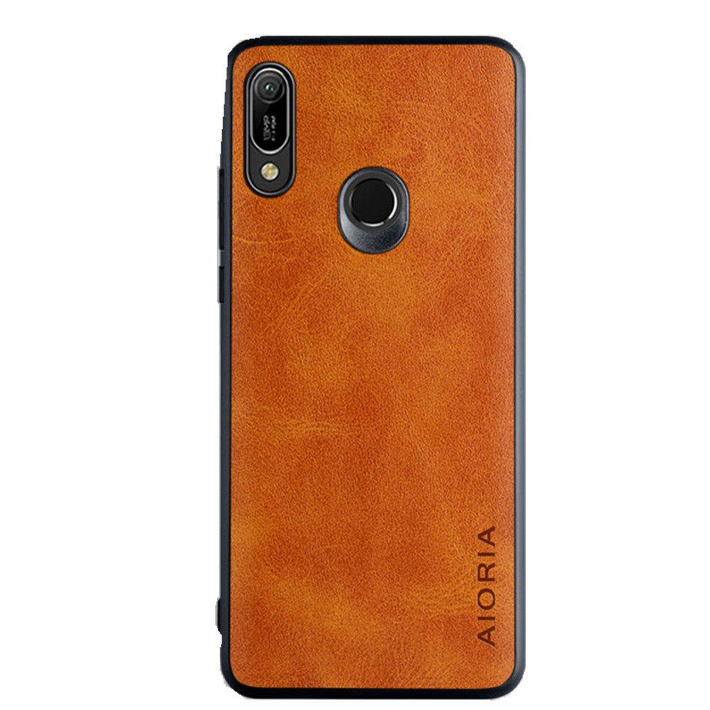 2PC Case for Huawei Honor 8A Coque Luxury Vintage PU Leather Skin Phone Covers Case Funda Capa