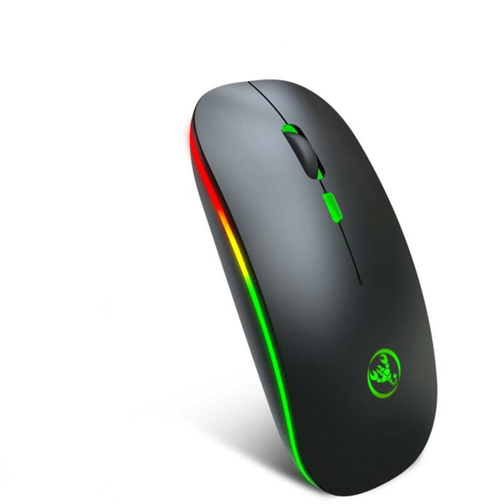 Bluetooth 5.1 Mouse Wireless Mouse RGB Computer Mouse Ergonomic Silent Mause Rechargeable Luminous Optical Mice For PC Laptop