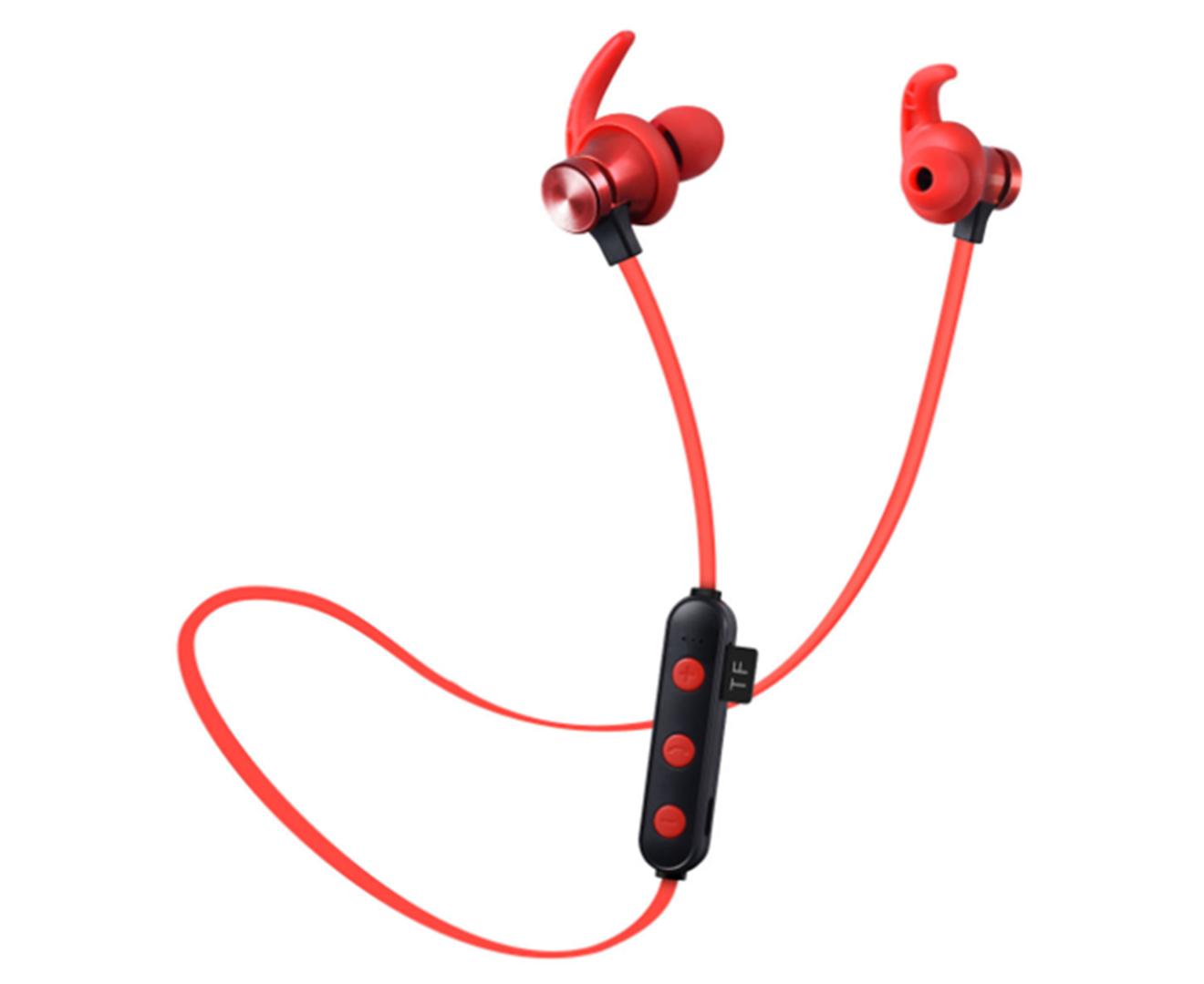 Bluetooth Headset Hanging Ear Sports Running Binaural Universal Earplugs Pluggable Card Bluetooth 4.2-
