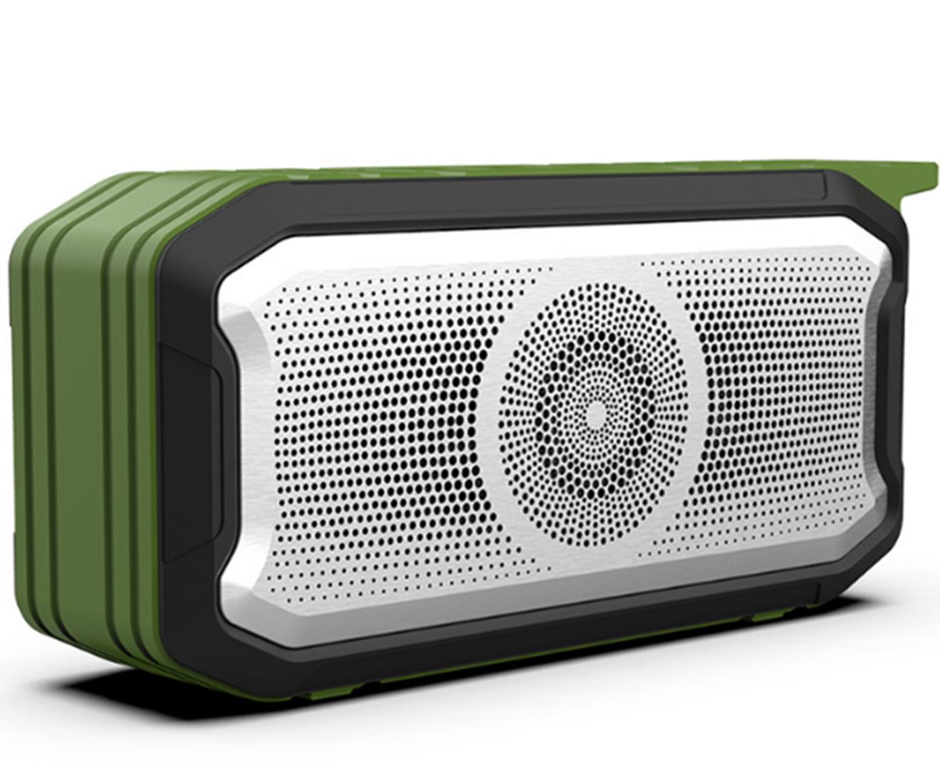 Creative Portable Wireless Bluetooth Speaker 5.0 IPX7 Waterproof Subwoofer Card Outdoor Audio-Green