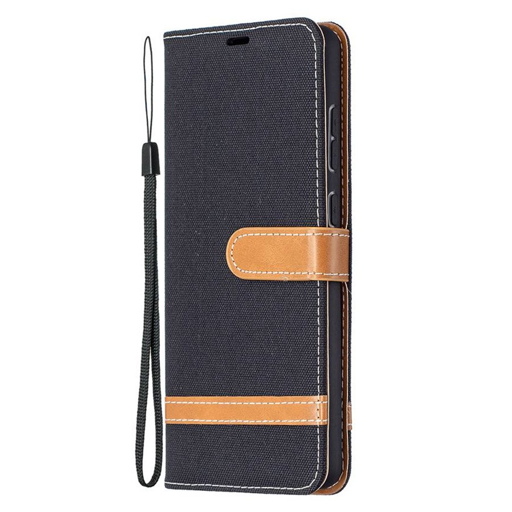 Flip Wallet Case For Samsung A70 Prismatic Dark Magnetic PU Leather