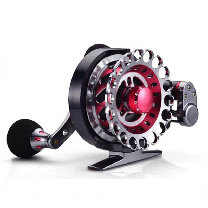 Fly Reel Automatic Wire Spread 10+1 BB Aluminum Alloy Right Hand Ice Fishing Raft Reel