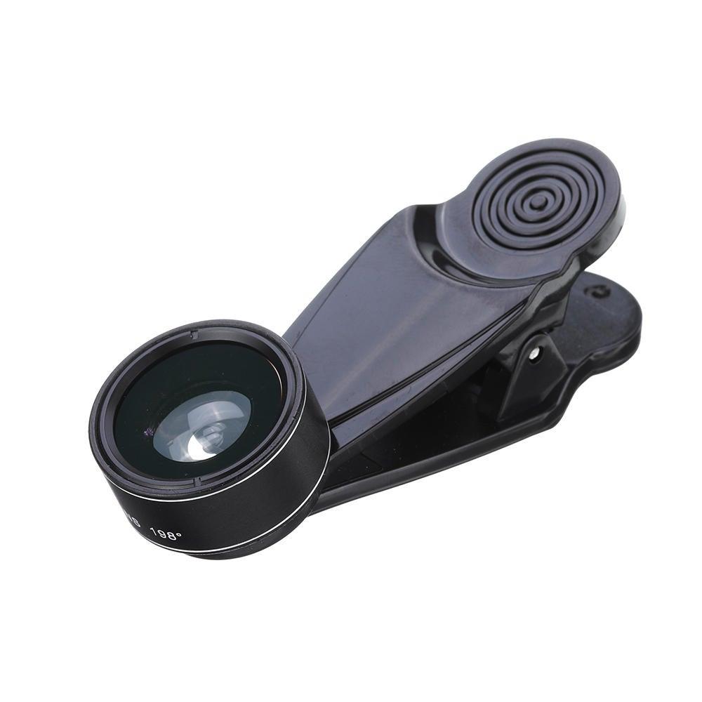 L-500 5 in 1 198 Degree Fisheye 0.63X Wide Angle 15X Macro 2X Telescope CPL Lens for Smartphone