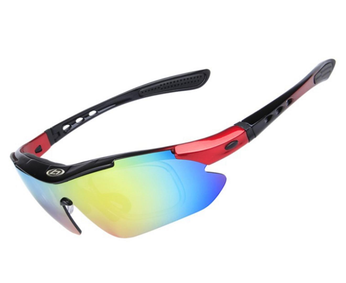 Outdoor Sports Polarized Night Vision Eyeglasses Riding Eyeglasses 5-Piece Suit - 2