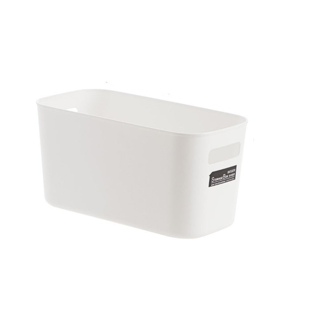 Plastic Sundries Storage Basket Toy Cosmetic Clothes Storage Box Snacks Case Container Makeup Organizer Minimalism
